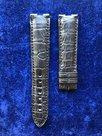Blu-horlogeband-leer-croco-19mm