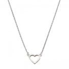 JOY-Layered-Necklace-Love-Heart-silver-42-45cm-JLN035-42