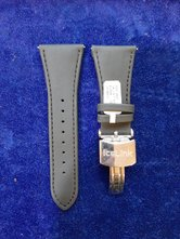 Ice-Link-horlogeband-leer-glad-27mm